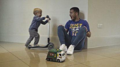 """Hazard: """"Kinderen maken me af als ik verlies"""""""