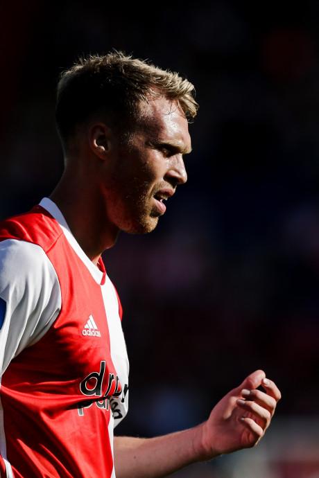 Jørgensen valt geblesseerd uit bij Jong Feyenoord