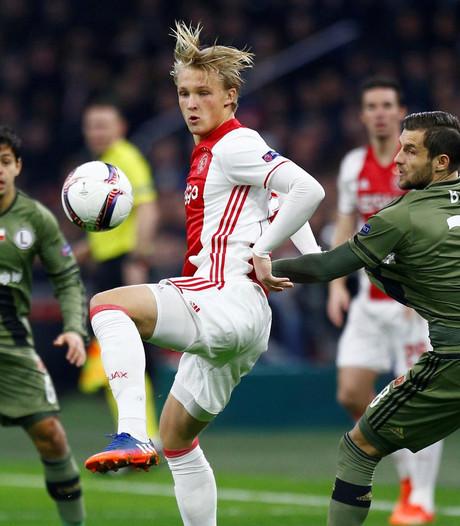 Teruglezen: Ajax naar achtste finale EL