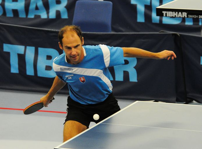 Thoms Keinath in actie in de finale in Middelburg.