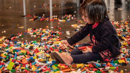 Kinderen laten fantasie de vrije loop op de Legobouwnamiddag