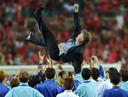Hiddink is dankzij de vierde plaats op het WK van 2002 nog steeds een held in Zuid-Korea.