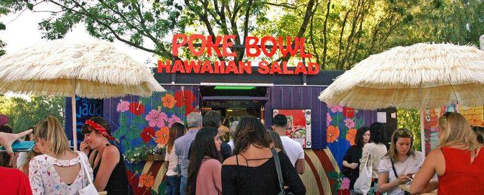 Een van de foodtrucks van Tjoeke Tjoeke Food Food, dat in Schijndel en Oss neerstrijkt.