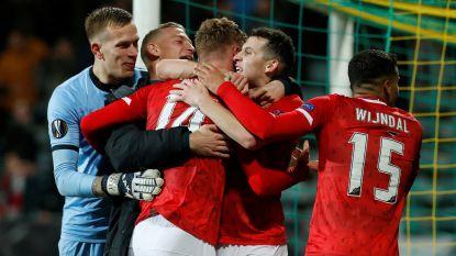 EUROPA LEAGUE. AZ naar volgende ronde na sensationele slotfase - Proto wint met Lazio, dat nog mag hopen