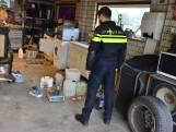 Drugslab gevonden in pand St. Willebrord, hond in beslag genomen