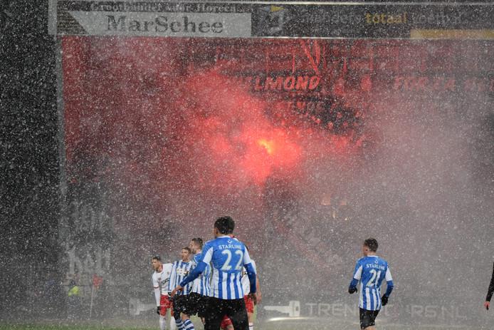 In 2017 duurde de altijd beladen derby tussen FCEindhoven en Helmond Sport vanwege winters weer slechts 24 minuten.