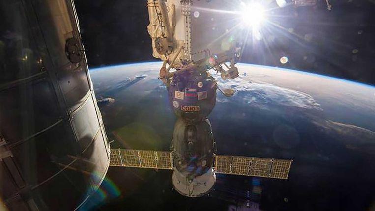 Het ISS Beeld afp