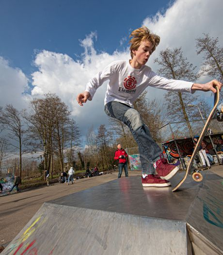 Skaten op de nieuwe skatebaan in Zevenbergen? Vergeet dat nog maar even