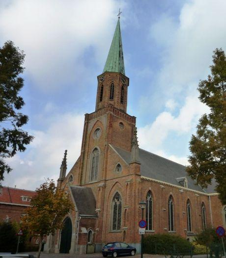 Stokje voor streekproductenmarkten in kerk Sint Jansteen
