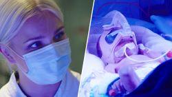 """Julie Van den Steen ontroerd door premature baby: """"Dit breekt mijn hart"""""""