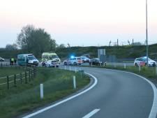 Steekpartij op A15 bij Tiel: slachtoffer zwaargewond