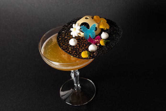 Le cocktail présenté par Fabian.