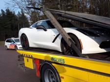 Dure sportwagen in beslag genomen bij Nunspeet, bestuurder opgepakt