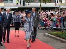 Prinses Beatrix enthousiast onthaald bij eeuwfeest Zuiderzeewet in Flevoland