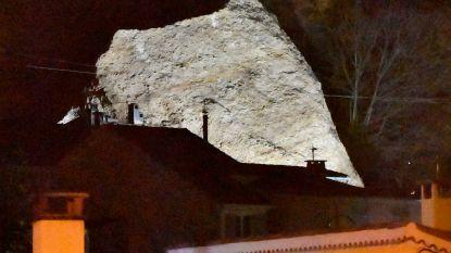 Zesde dode bij noodweer in Frankrijk, gigantisch rotsblok valt op enkele huizen in dorp