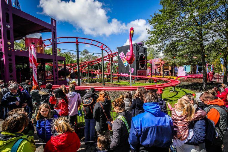 Alle Pannenaren kunnen voortaan gratis binnen in Plopsaland en genieten van onder meer deze K3 rollercoaster