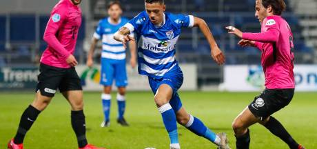 Een basisplek én een nieuw contract, de kleine Eliano Reijnders maakt dit seizoen bij PEC wel hele grote sprongen