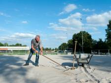 Wijhe '92 legt beachveld aan en wekt daarmee interesse van voetbaltak en volleybalclub
