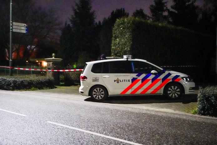 Politie doet onderzoek na woningoverval aan Emopad in Geldrop.