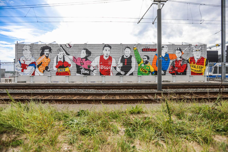 Herken jij de tien Amsterdamse sporthelden? Beeld Eva Plevier