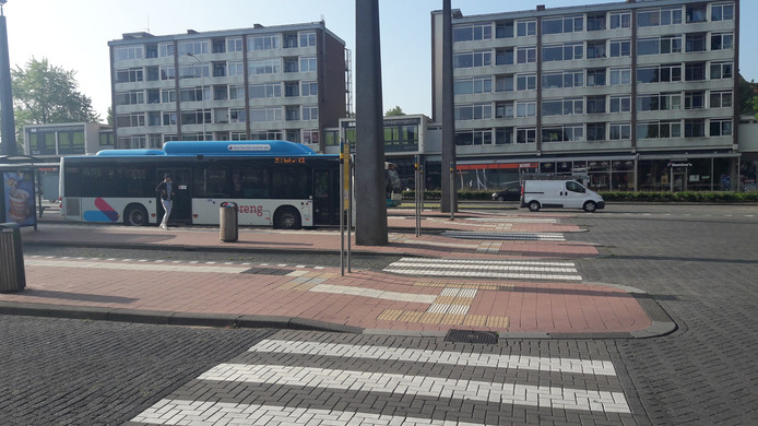 Het busstation in Wageningen