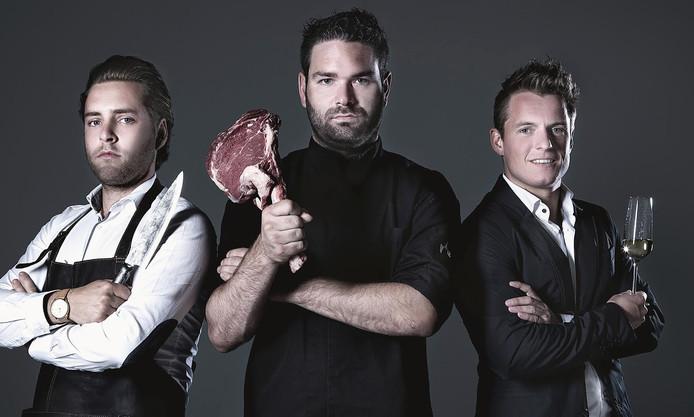 De mannen van Big Boys Chef's Table strijken dit jaar in Mariaheide neer.
