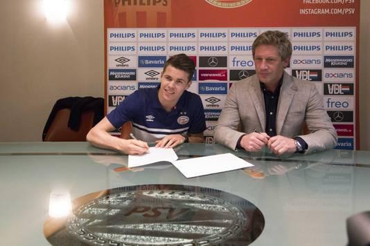 Marco van Ginkel: kersverse PSV'er.