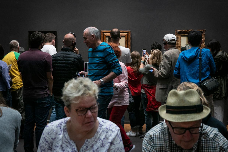 De Eregalerij van het Rijksmuseum aan het begin van de middag.  Beeld Dingena Mol