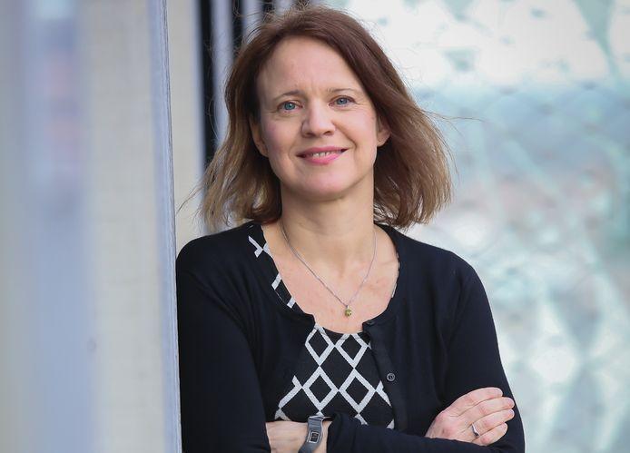 Mettina Veenstra, lector Smart Cities aan Hoheschool Saxion.