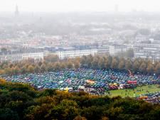 Verbod zware tractoren op Malieveld: ondergrondse parkeergarage kan druk niet aan