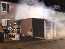 Koelkast veroorzaakt brand in schuur in Barneveld