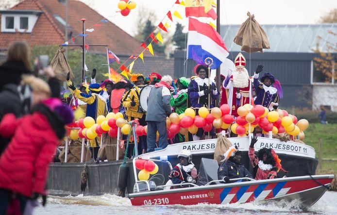 Intocht Sinterklaas zaterdagmiddag in Hardenberg