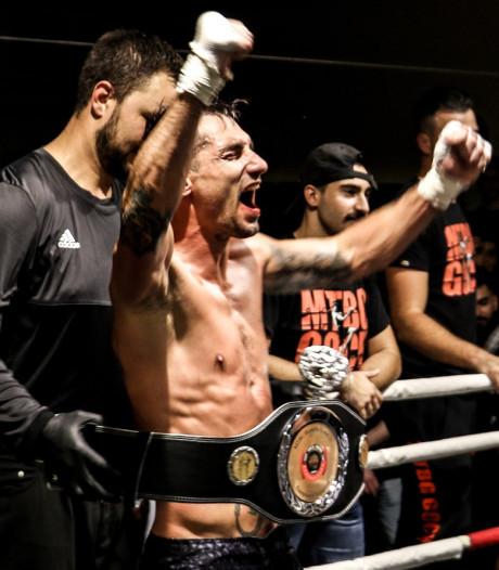 Kickbokser Twan Aarts uit Someren stopt na behalen Europese titel