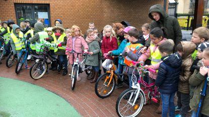 Salto-kinderen laten fietsbel rinkelen voor klimaat