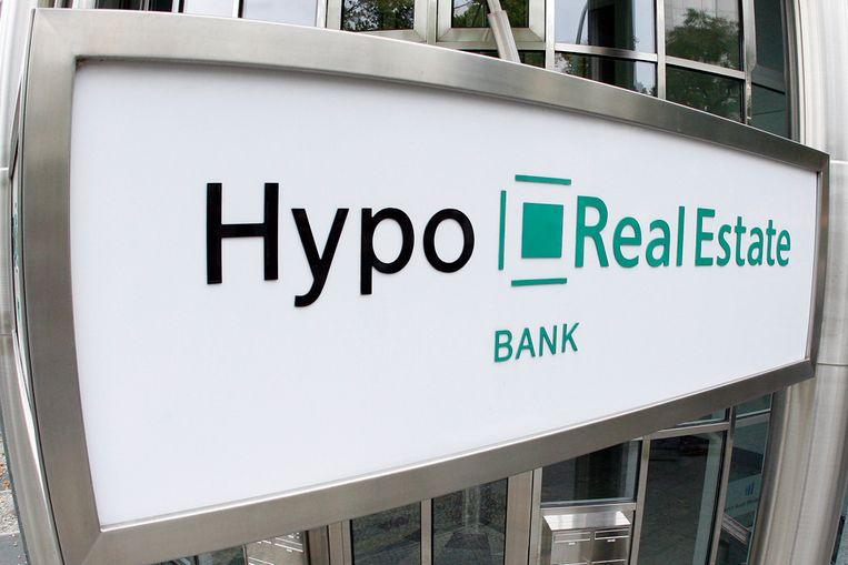 Hypo Real Estate, een Duitse bank, doorstond de Europese stresstest niet (AP) Beeld AP