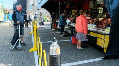 Circulatieplan markt wordt na evaluatie aangepast: ingang aan Parklaan, uitgang aan Hoogstraat