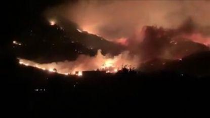 VIDEO. 110 politie- en brandweerlui vechten tegen bosbranden op Corsica