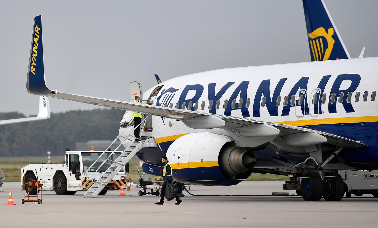 Een toestel van budgetmaatschappij Ryanair is door de Fransen in beslag genomen