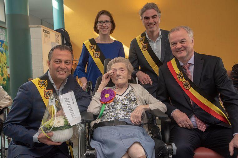 Georgine Den Haese wordt 104 en is de oudste inwoner van Merelbeke.