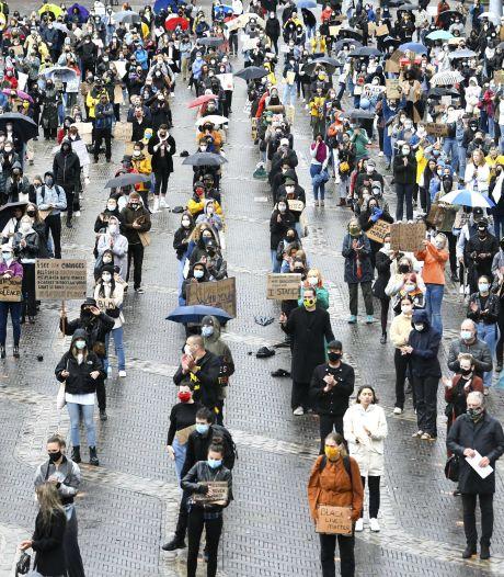 Met mijn witte huidskleur voelde ik me een minderheid bij de demonstratie in Arnhem