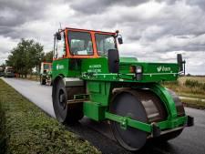 Dit is de meest milieuvriendelijk aangelegde weg van heel de gemeente Roosendaal