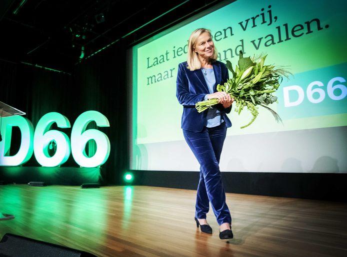 Begin deze maand werd Sigrid Kaag gepresenteerd als lijsttrekker van D66.