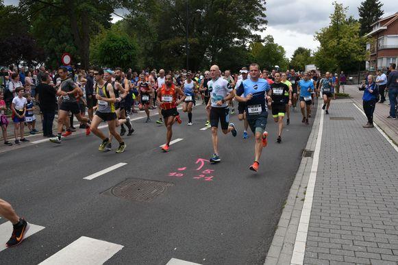 Jogging Dwars door Zaventem