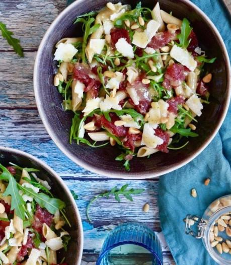 Wat Eten We Vandaag: Carpaccio pastasalade