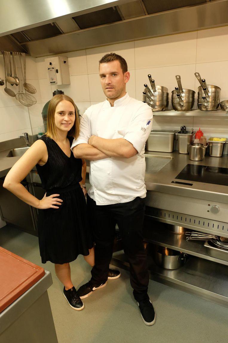 Eva Van de Peer en Nathan Van Echelpoel van restaurant Nathan hebben hun eerste Michelinster