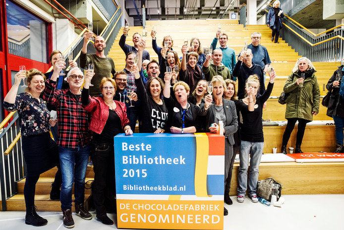 De Chocoladefabriek in Gouda werd in 2015 uitgeroepen tot de beste bibliotheek van Nederland. Eveneens een ontwerp van architect Jan David Hanrath.