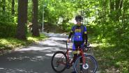 Wat Victor Campenaerts kan, kan ik ook: wielrenner Mika Houtmeyers (17) beklimt de Kapeldreef 134 keer