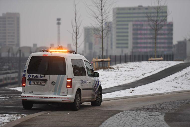 klopjacht politie Leuven, na inbraak bij Sara Peeteers