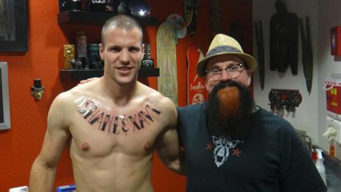 Jordy clasie tattoo