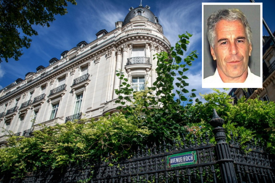 L'appartement parisien de Jeffrey Epstein.